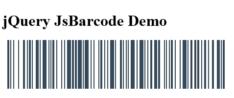 Multifunctional Barcode Generator with jQuery and Html5 Canvas